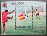 Poštovní známka Malawi 1982 MS ve fotbale Mi# Block 60