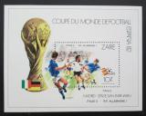 Poštovní známka Kongo Dem., Zair 1982 MS ve fotbale Mi# Block 43