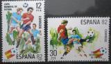 Poštovní známky Španělsko 1981 MS ve fotbale Mi# 2496-97