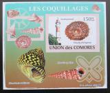 Poštovní známka Komory 2009 Maják a škeble neperf. Mi# 2087 B