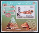 Poštovní známka Komory 2009 Maják a škeble neperf. Mi# 2090 B