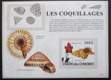Poštovní známka Komory 2009 Maják a škeble neperf. Mi# Block 470 B
