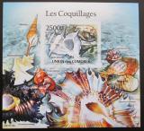 Poštovní známka Komory 2011 Lastury,škeble Mi# Block 616 B