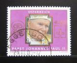 Poštovní známka Rakousko 2005 Papež Jan Pavel II. Mi# 2521