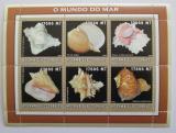 Poštovní známky Mosambik 2002 Lastury, škeble Mi# 2590-95