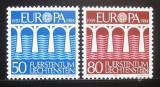 Poštovní známky Lichtenštejnsko 1984 Evropa CEPT Mi# 837-38