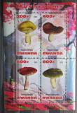 Poštovní známky Rwanda 2013 Houby