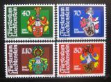 Poštovní známky Lichtenštejnsko 1982 Erby Mi# 793-96