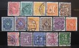 Poštovní známky Německo 1922 Různé motivy, nekompl. Kat 50€