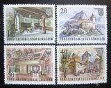 Poštovní známky Lichtenštejnsko 1981 Hrad Guttenberg Mi# 780-83
