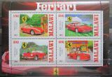 Poštovní známky Malawi 2013 Auta, Ferrari
