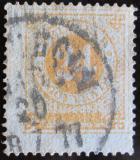 Poštovní známka Švédsko 1872 Nominální hodnota Mi# 23 A Kat 30€