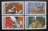 Poštovní známky Lichtenštejnsko 1982 Zaměstnání Mi# 802-05