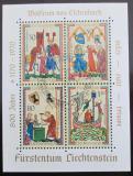 Poštovní známky Lichtenštejnsko 1970 Minesingři Mi# Block 8