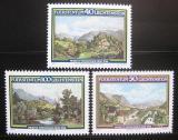 Poštovní známky Lichtenštejnsko 1982 Umění, krajiny Mi# 806-08