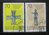 Poštovní známky Lichtenštejnsko 2001 Umění Mi# 1266-67