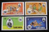 Poštovní známky Tanzánie 1979 Mezinárodní rok dětí Mi# 123-26