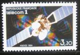 Poštovní známka Francie 1984 Telecom I Satelit Mi# 2459