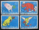 Poštovní známky Lichtenštejnsko 1994 Pozdravy Mi# 1085-88