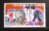 Poštovní známka Kongo 1966 Dr. Albert Schweitzer Mi# 107