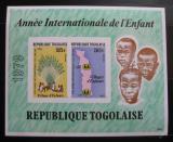 Poštovní známky Togo 1979 Mezinárodní rok dětí Mi# Block 143 B