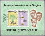 Poštovní známky Togo 1979 Mezinárodní rok dětí Mi# Block 143 A