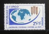 Poštovní známka Kongo 1963 Boj proti hladu Mi# 26