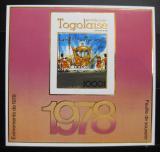 Poštovní známka Togo 1978 Korunovační kočár neperf. Mi# Block 127 B Kat 30€