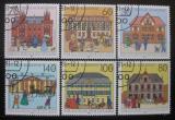 Poštovní známky Německo 1991 Poštovní úřady Mi# 1563-68