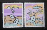 Poštovní známky Faerské ostrovy 1986 Evropa CEPT Mi# 134-35