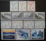 Poštovní známky Faerské ostrovy 1975 Různé motivy Mi# 7-20
