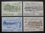 Poštovní známky Faerské ostrovy 1987 Architektura Mi# 145-48