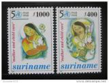 Poštovní známky Surinam 1998 WHO, 50. výročí Mi# 1584-85