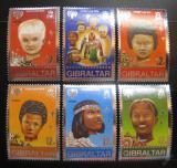 Poštovní známky Gibraltar 1979 Mezinárodní rok dětí Mi# 395-400
