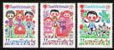 Poštovní známky Maďarsko 1979 Mezinárodní rok dětí Mi# 3335-37 A Kat 10€