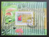 Poštovní známka Guinea 2009 Houby na známkách Mi# Block 1765