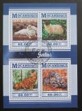 Poštovní známky Mosambik 2015 Domácí kočky