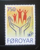 Poštovní známka Faerské ostrovy 1998 Lidská práva Mi# 340