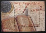 Poštovní známky Faerské o. 2002 Schůze reprezentantů Mi# Block 13