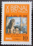 Poštovní známka Brazílie 1969 Umění Mi# 1215
