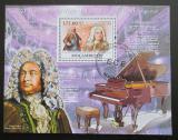 Poštovní známka Mosambik 2009 Georg Friedrich Handel Mi# Block 277
