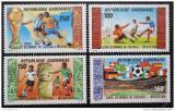 Poštovní známky Gabon 1986 MS ve fotbale Mi# 955-58