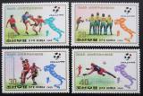 Poštovní známky KLDR 1989 MS ve fotbale Mi# 3070-73