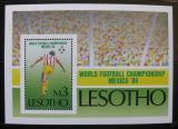 Poštovní známka Lesotho 1986 MS ve fotbale Mi# Block 31