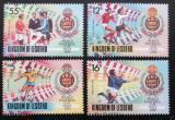 Poštovní známky Lesotho 1989 MS ve fotbale Mi# 819-22