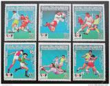 Poštovní známky Libye 1985 MS ve fotbale Mi# 1618-23