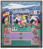 Poštovní známka Libye 1985 MS ve fotbale Mi# Block 98