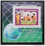 Poštovní známka Libye 1986 MS ve fotbale Mi# Block 106