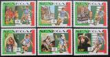 Poštovní známky Senegal 1990 MS ve fotbale Mi# 1076-81
