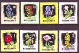 Poštovní známky Maďarsko 1961 Léčivé rostliny Mi# 1799-1806